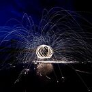 Burning steelwool by Nicole W.