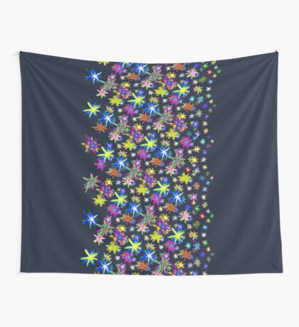 Flower blast structured chaos in stratosphere #fractal art Wall Tapestry