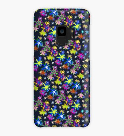 Flower blast structured chaos in stratosphere #fractal art Case/Skin for Samsung Galaxy
