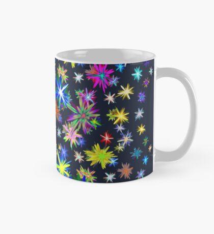 Flower blast structured chaos in stratosphere #fractal art Mug