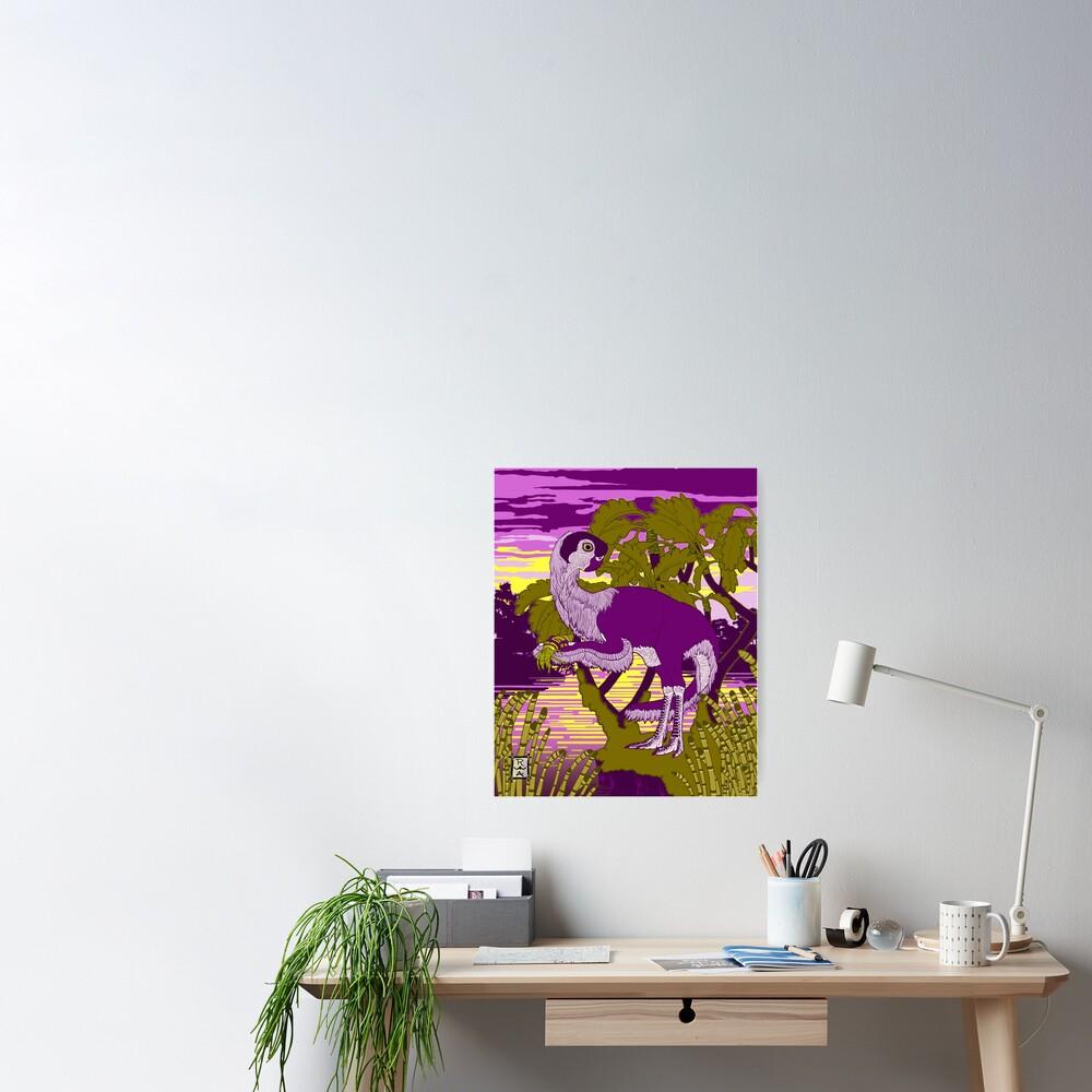 Nemegt Sunrise Poster