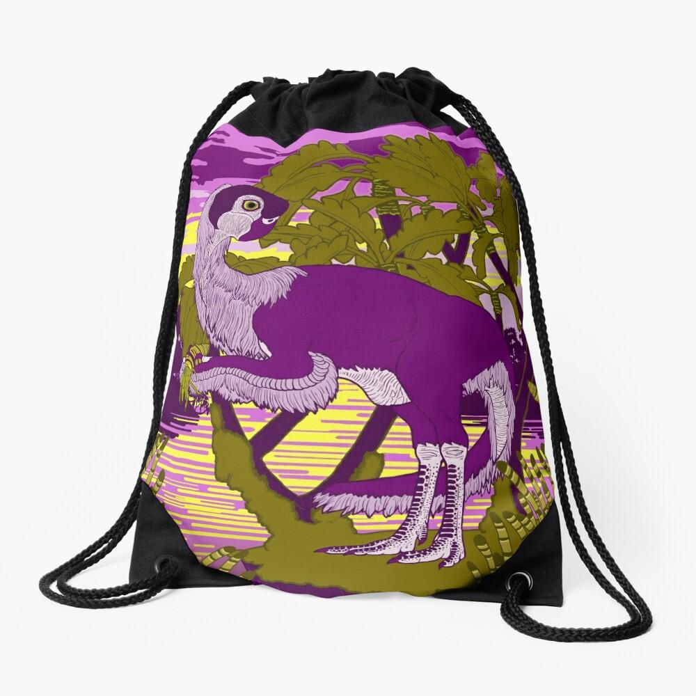 Nemegt Sunrise Drawstring Bag