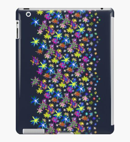 Flower blast structured chaos in stratosphere #fractal art iPad Case/Skin