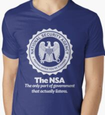 The NSA Men's V-Neck T-Shirt
