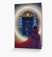 Sherlock Strange Greeting Card