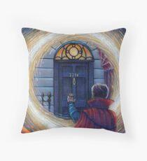Sherlock Strange Throw Pillow