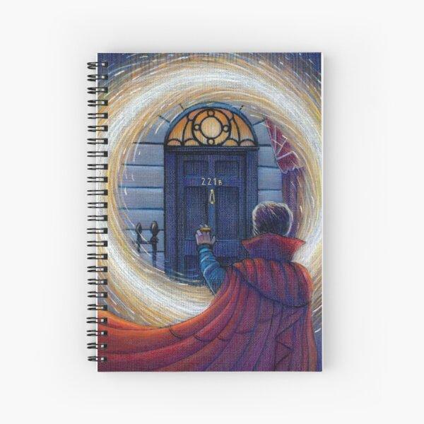 Sherlock Strange Spiral Notebook