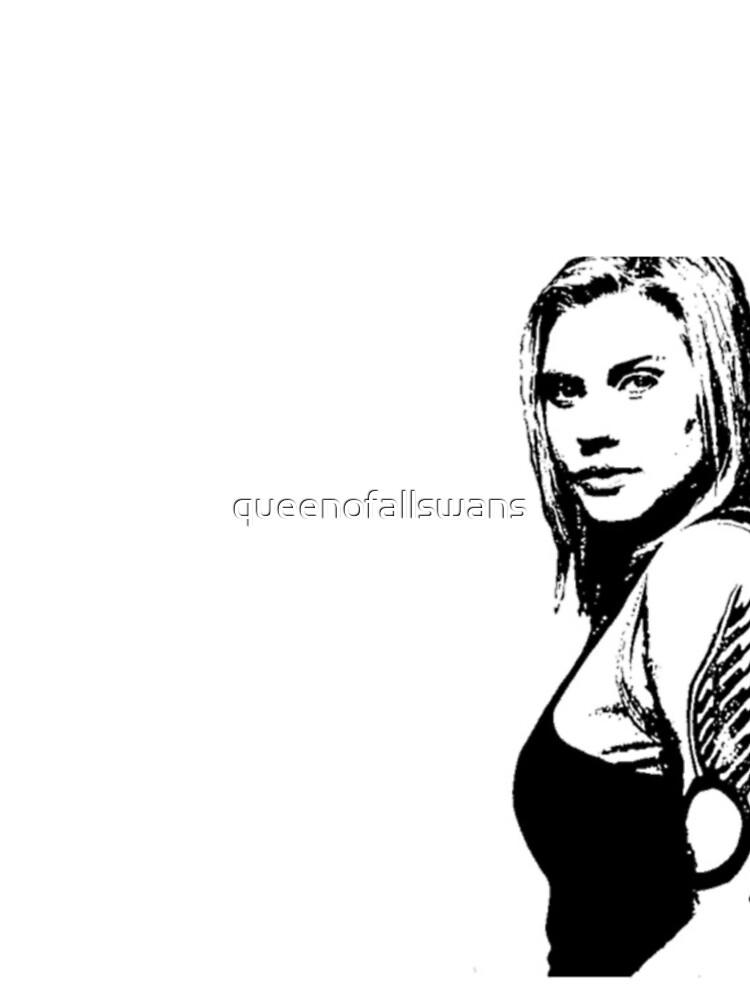 "Battlestar Galactica ""Kara Thrace"" by queenofallswans"