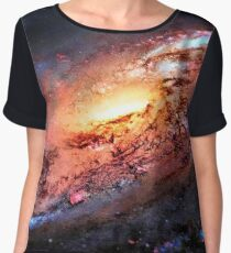 Amazing Galaxy Space Chiffon Top