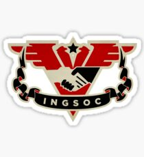 1984 INGSOC Emblem Sticker