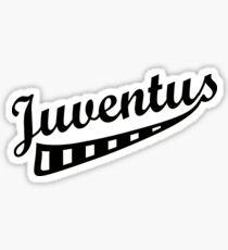 Juventus Name Smooth Sticker