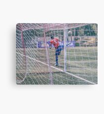Goalie Metal Print