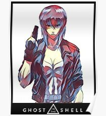 The Major (Ghost in the Shell) Poster