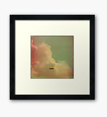 Once Upon a Time a Little Boat Framed Print