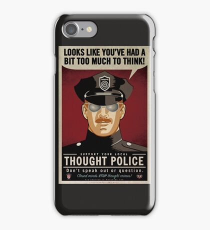 Thought Police iPhone Case/Skin