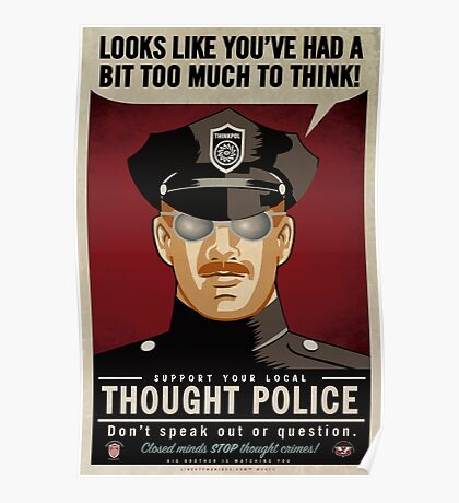 Thought Police Poster