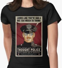 Thought Police Womens Fitted T-Shirt