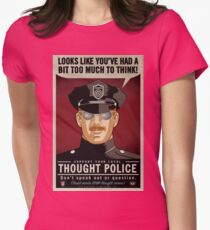 Thought Police Women's Fitted T-Shirt