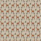 Deer in pairs by tanaudel