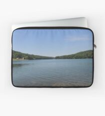 Tranquil Moment at Leesville Lake Laptop Sleeve