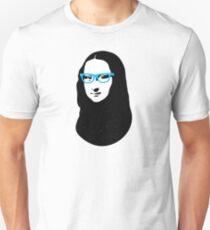Mona Lisa Hipster Unisex T-Shirt