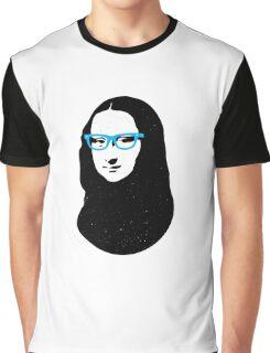 Mona Lisa Hipster Graphic T-Shirt