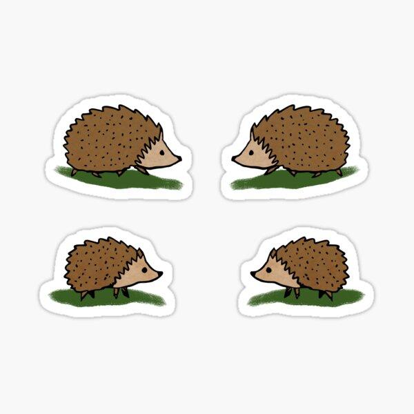 Hedgehog stickers Sticker