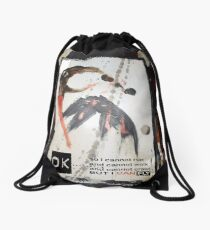i can fly Drawstring Bag