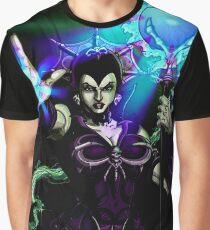 Evil Lyn Dark Graphic T-Shirt
