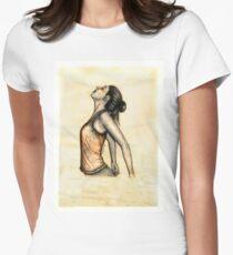 Desierto Dibujo Camisetas entalladas para mujer  Redbubble
