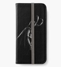 Vinilo o funda para iPhone Loki en blanco y negro