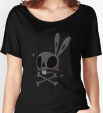 Bunny - Skull Women's Relaxed Fit T-Shirt