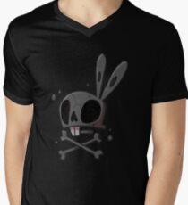 Bunny - Skull Men's V-Neck T-Shirt