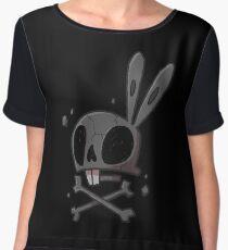 Bunny - Skull Chiffon Top