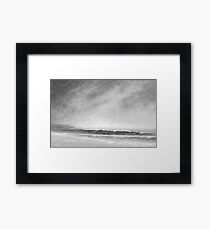 Beach memory I Framed Print