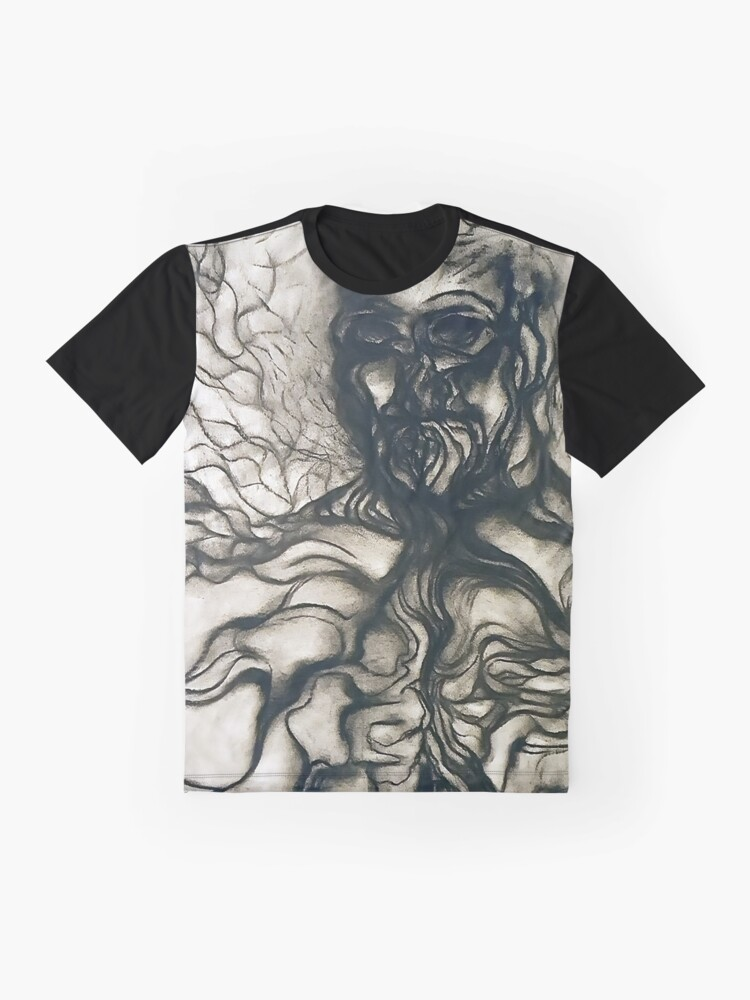 Alternate view of Breath. Graphic T-Shirt