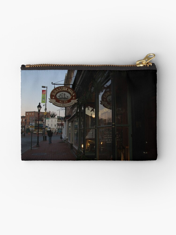 Brassworks in Fells Point by Dominic Perry