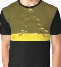 Yellow Jello Bubbles Graphic T-Shirt