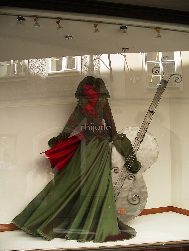 Stylish Window and reflections in Innsbruck by chijude