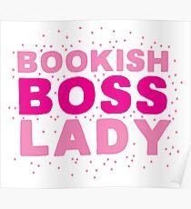 Bookish boss lady Poster