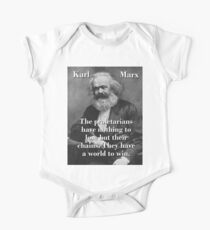 The Proletarians Have Nothing To Lose - Karl Marx Kids Clothes