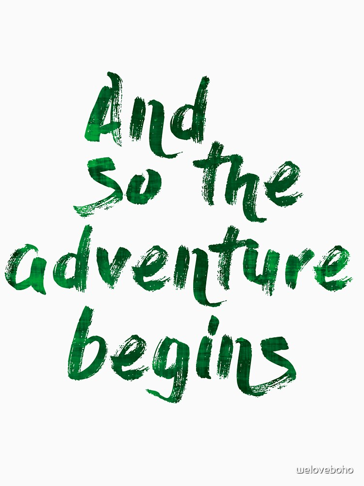 And so the adventure begins de weloveboho
