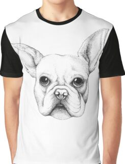 Cute Frenchie Pug Graphic T-Shirt
