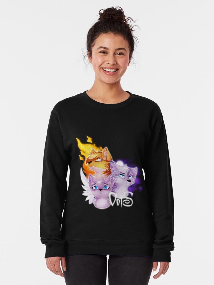 Alternate view of Omen of the Stars Pullover Sweatshirt