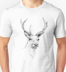 Deer Antlers Stag Head T-Shirt