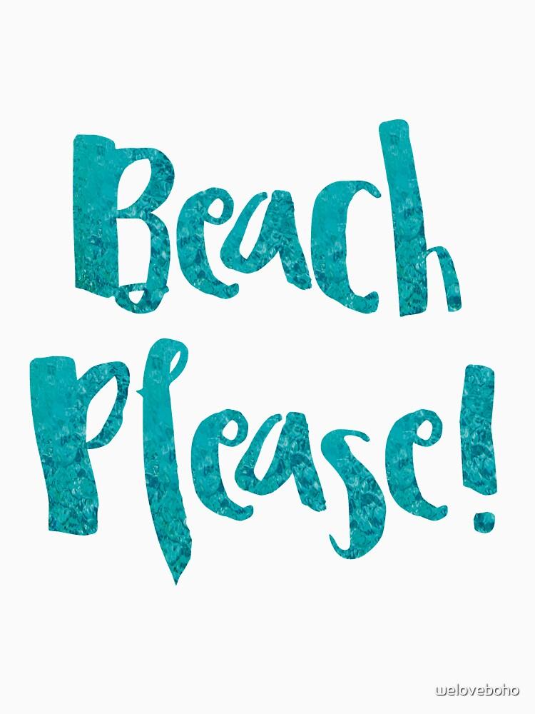 Beach Please! de weloveboho
