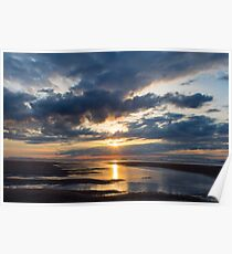 Findhorn Beach, Moray Poster