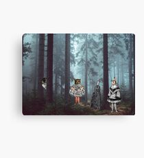 KID'S EATERS Canvas Print