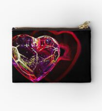 Heart Outline Studio Pouch