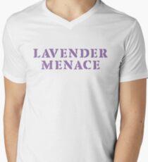 Lavender Menace [purple] Men's V-Neck T-Shirt